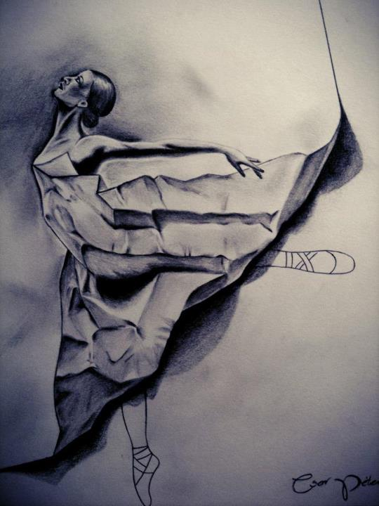 amazing, ballet, dancer, draw, drawing