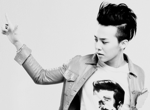 big bang, gd, g.dragon, black and white, boy