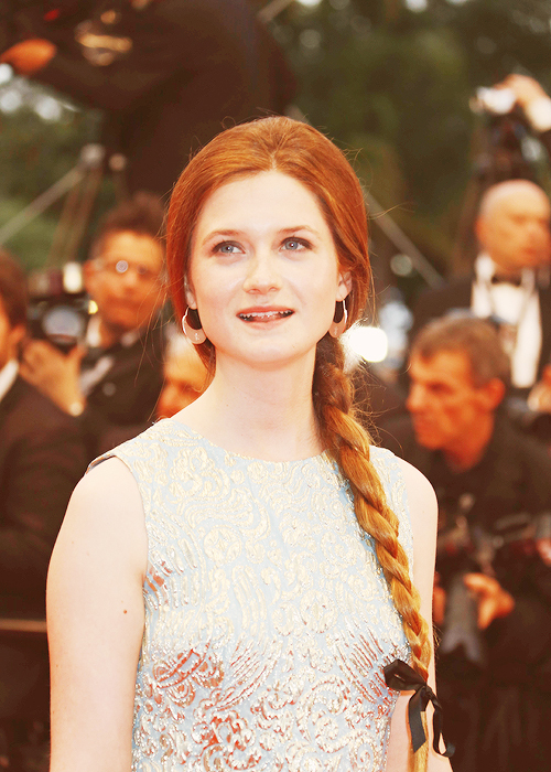 bonnie wright, actress, red hair, ginger