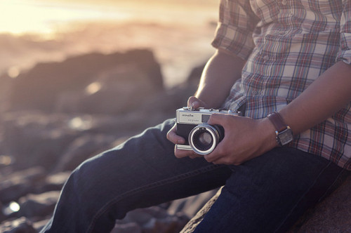 boy, style, fashion, camera, vintage