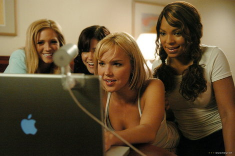 apple macbook, arielle kebbel, ashanti, brittany snow, comedy, john tucker must die, movie, sophia bush