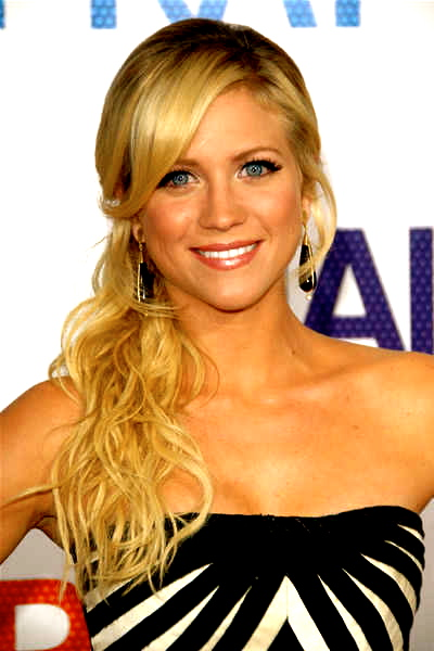 brittany snow, pretty, bright smile, blue eyes, blonde