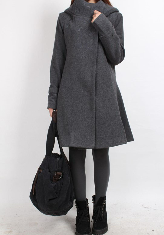 clothing, jacket, women, tunic, wool coat