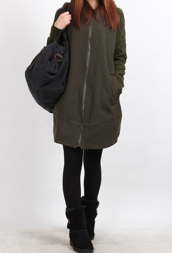 clothing, women, jacket, long sleeve, coat wool overcoat