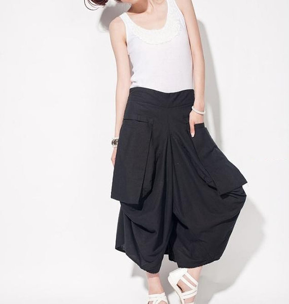 clothing, women, pants, culottes, loose