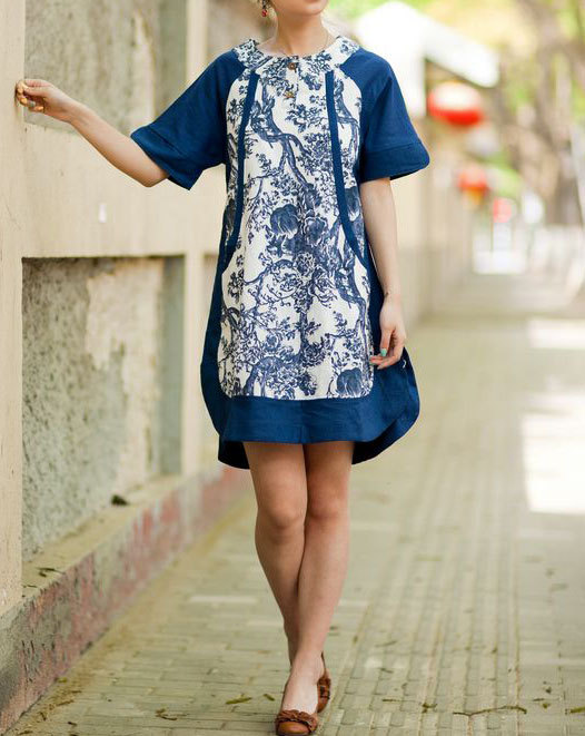 artist, babydoll, clothing, dress, ethnic, long, romantic, shirt, shirt dress, short sleeved, summer, tunic, women