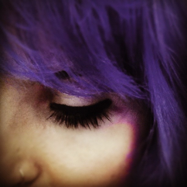 colours, hair, purple, color, colored