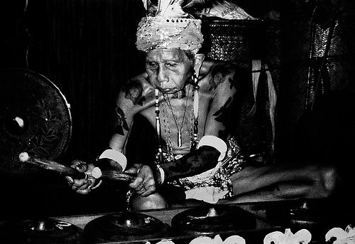 dayak, bornoe, tattoo, culture, indonesia