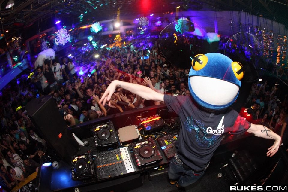 deadmau5, party, people