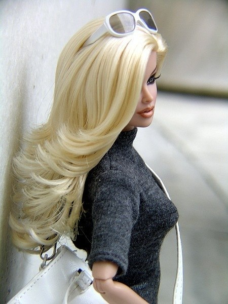 barbie, blond hair, doll, fashion