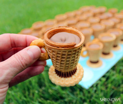 edible tea cup