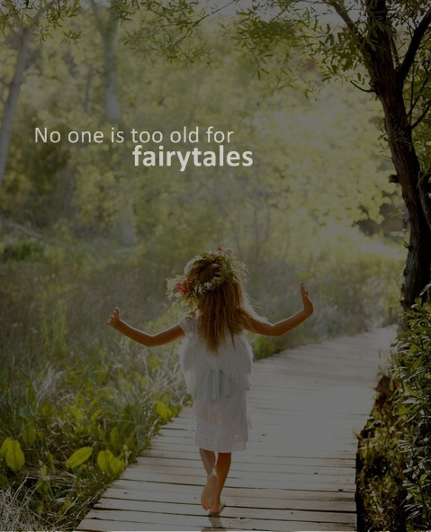 fairytale, tree, girl, child, happy