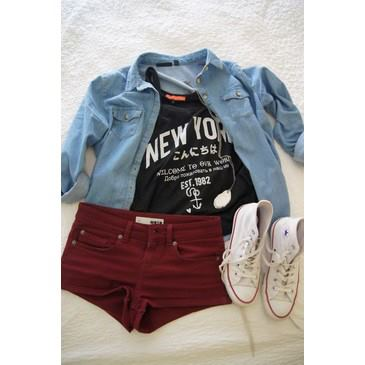 fashion, chucks, new york