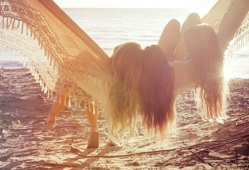 friends, beach, girls, summer