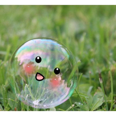 funny, cute, bubble, art