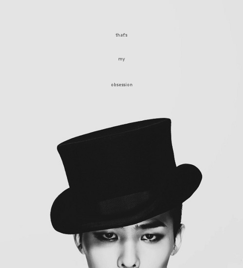 gd, big bang, black and white