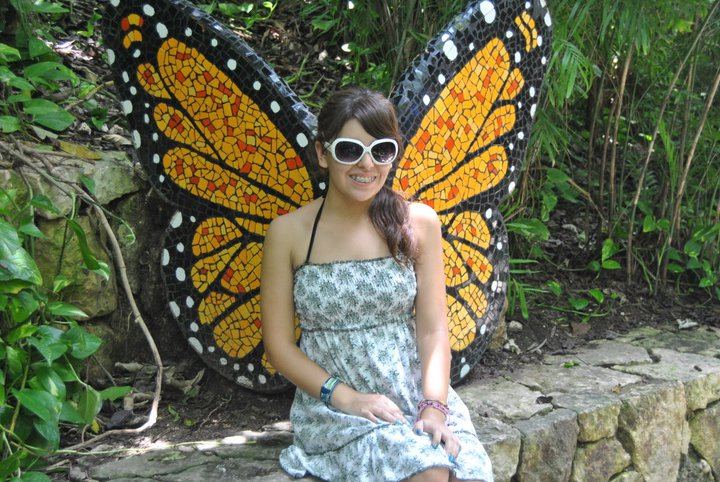 girl, beautiful, butterfly, amazing