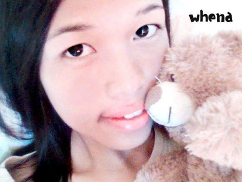 cute, girl, teddy bear