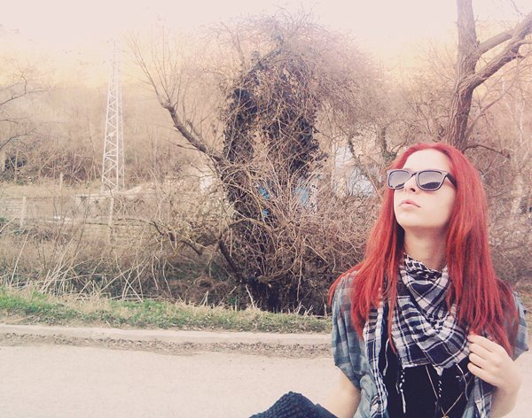 amazing, beautiful, cool, cute, fashion, girl, glasses, hair, love, nice, photography, red, red hair, sexy