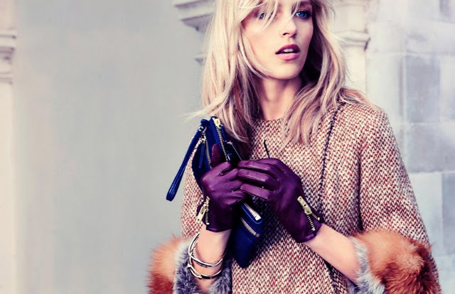 girl, gloves. hair, handbag, fashion, beautiful