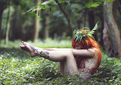 girl, tattoo, nature, fashion, hot