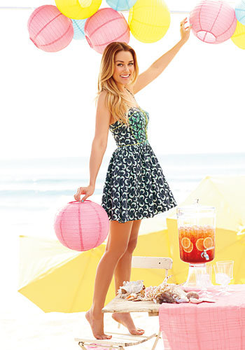 lauren conrad, instyle photoshoot, the hills