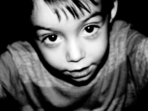 lisa reason, art, black and white, blur, boy