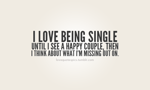 happy being single quotes tumblr - photo #9