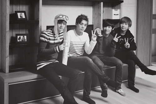mblaq, balck and white, boy, cute, nice