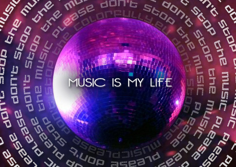 ball, colors, disco, dont, life, lights, music, my, please, purple, rihana, stop, the