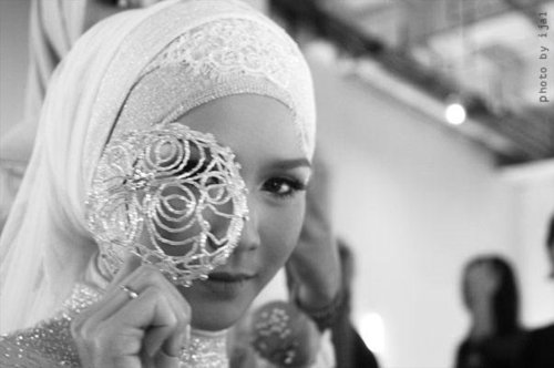 fashion, muslim, wedding