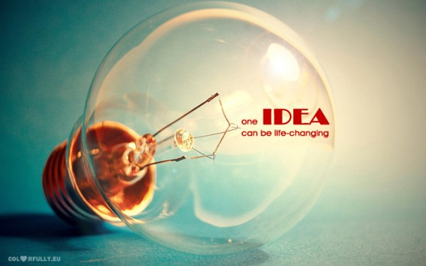 one, idea, bulb, can, be