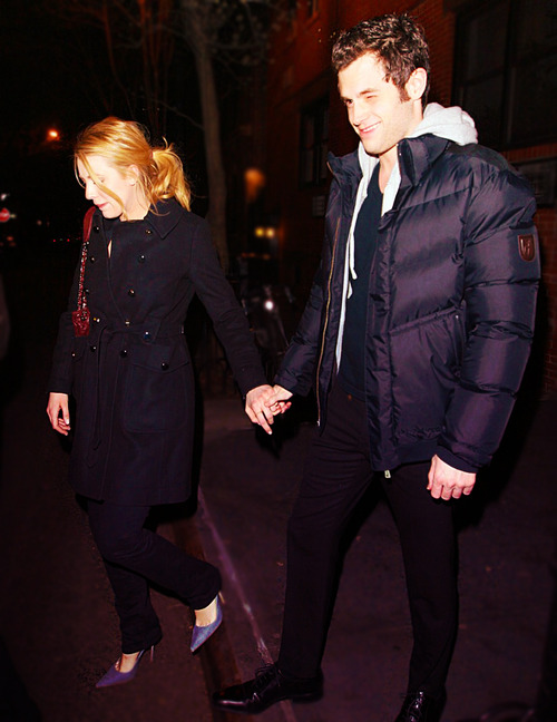 penn badgley, blake lively, couple, fashion, love