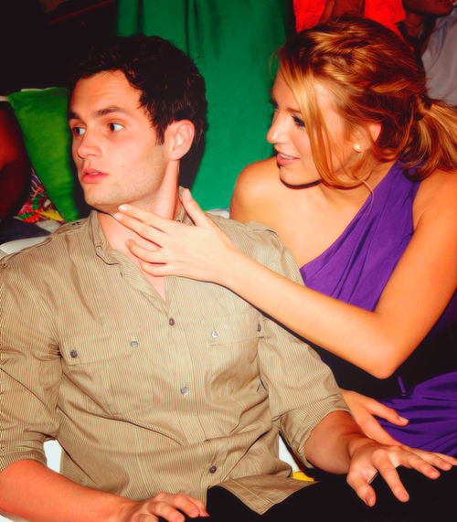 penn badgley, blake lively, couple, love, fashion