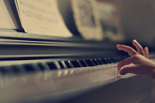 piano, child, kid, cute, hand