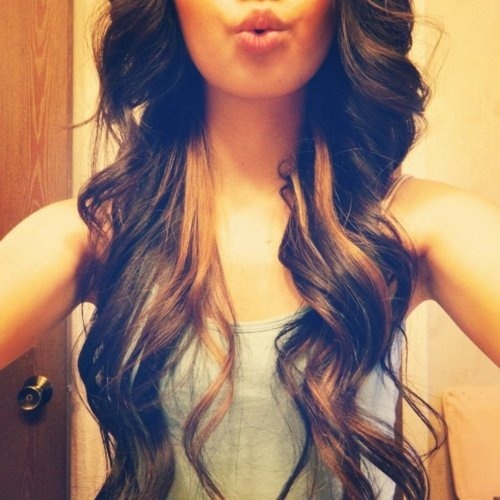 pretty, girl, brown hair, duck face