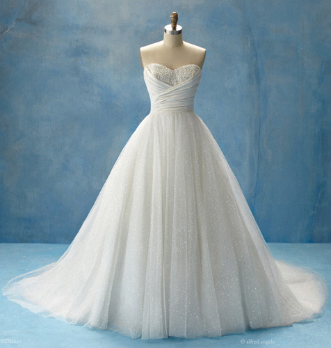 princess, dream dress, cinderella, wedding