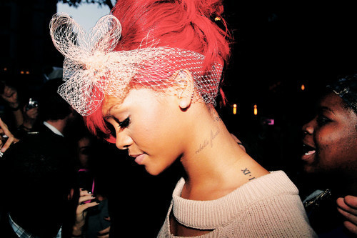 rihanna, tattoo
