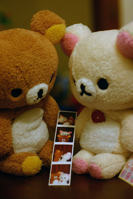 rilakkuma, kawaii, cute, doll