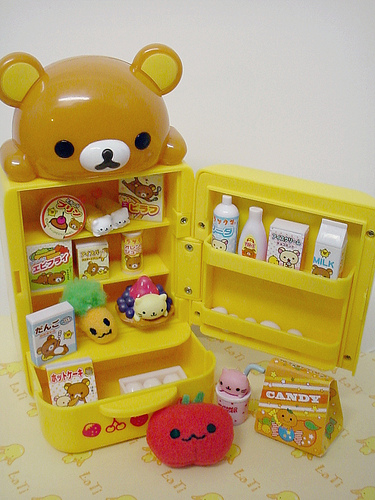 cute, doll, kawaii, rilakkuma, romantic