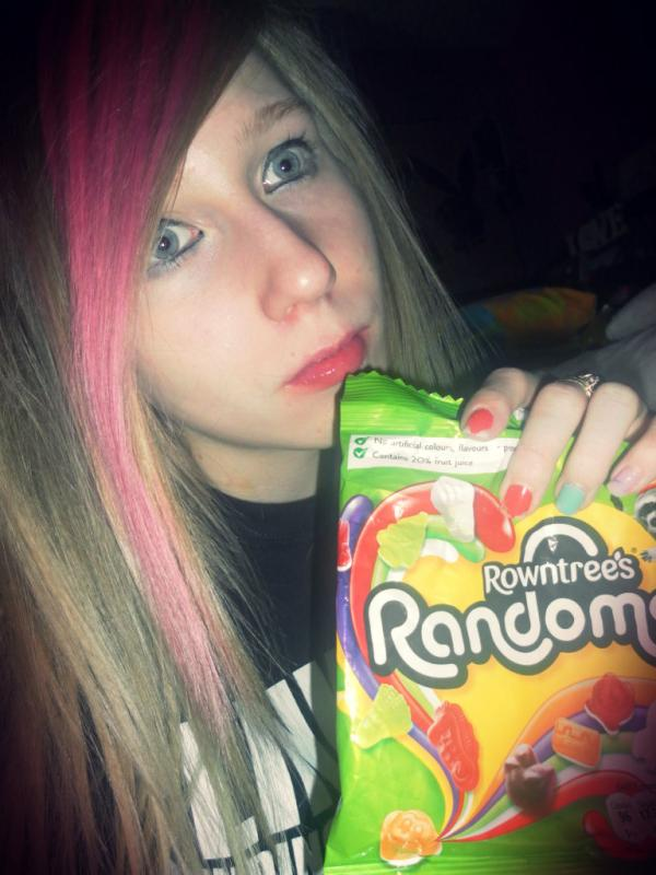 rowntrees randoms, sweet, girl, pretty, candy