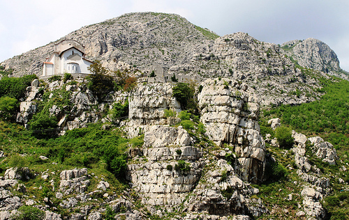 albania, churche, mountain, rubik