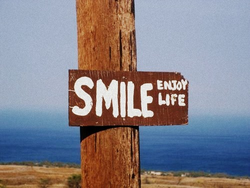 smile sing, enjoy, sign, sea, ocean