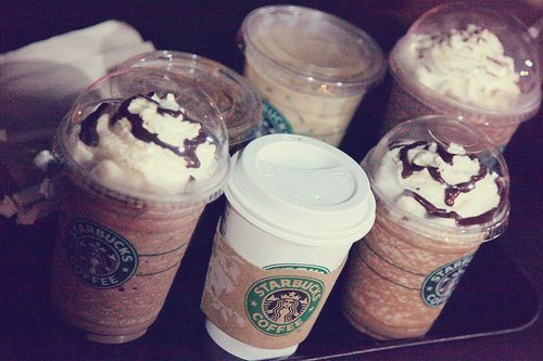 starbucks, good, yummy