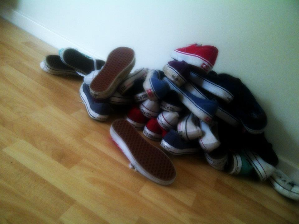 vans, converse, shoes, pile, cute