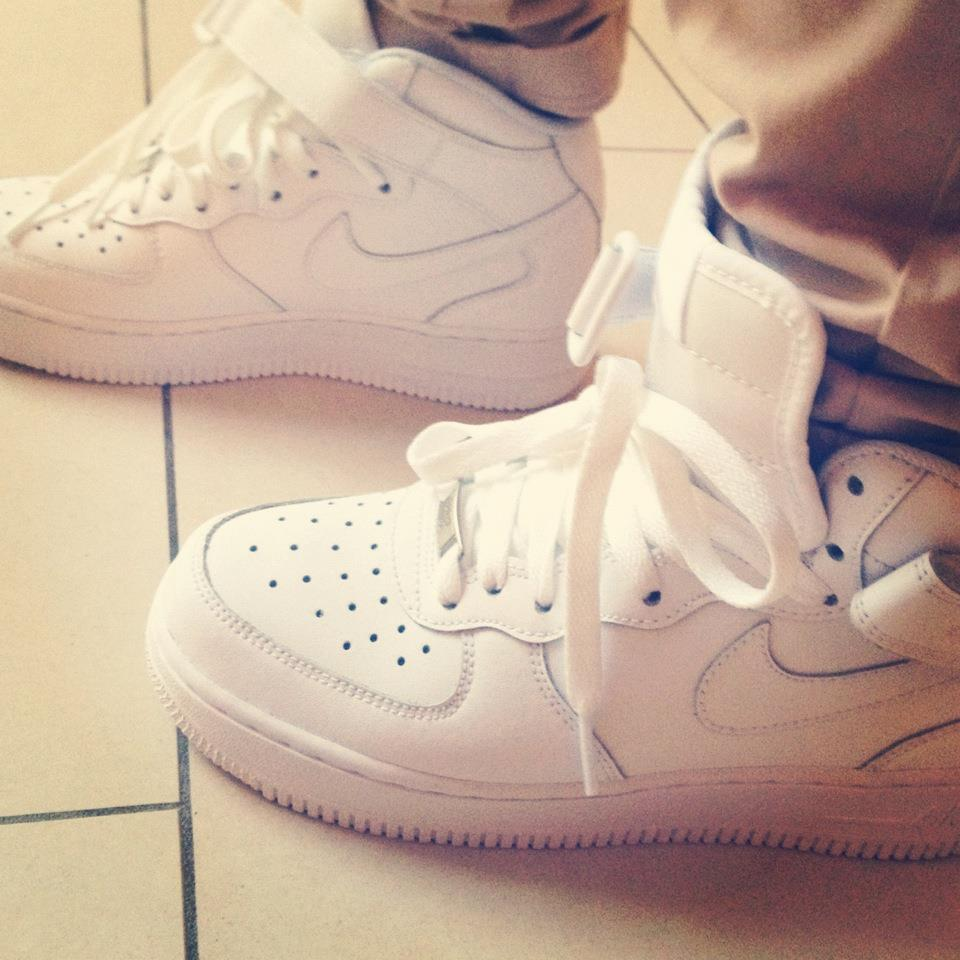white, shoes, air force