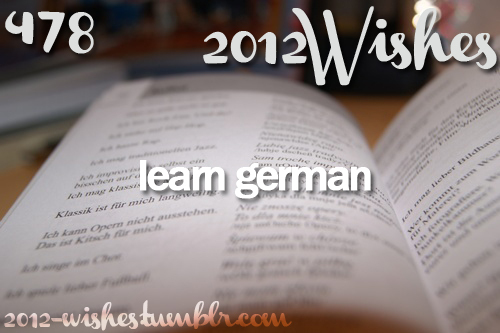 2012, austria, german, germany, language, learn, wish, wishes