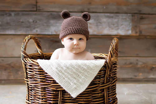 adorable, baby, basket, beautiful, children