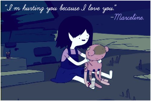 adventure time, marceline, marceline as a little kid
