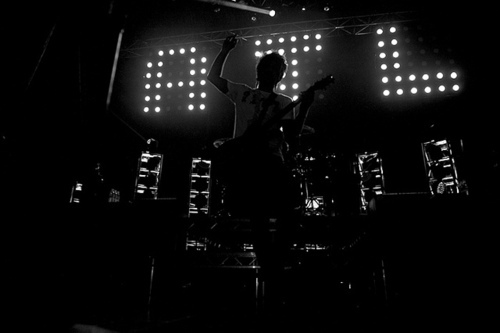 Alex Gaskarth All Time Low Black And White Image